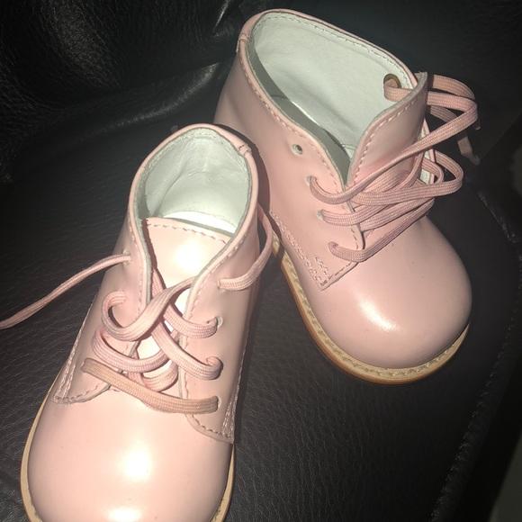 Josmo Pink Hard Bottom Baby Walking